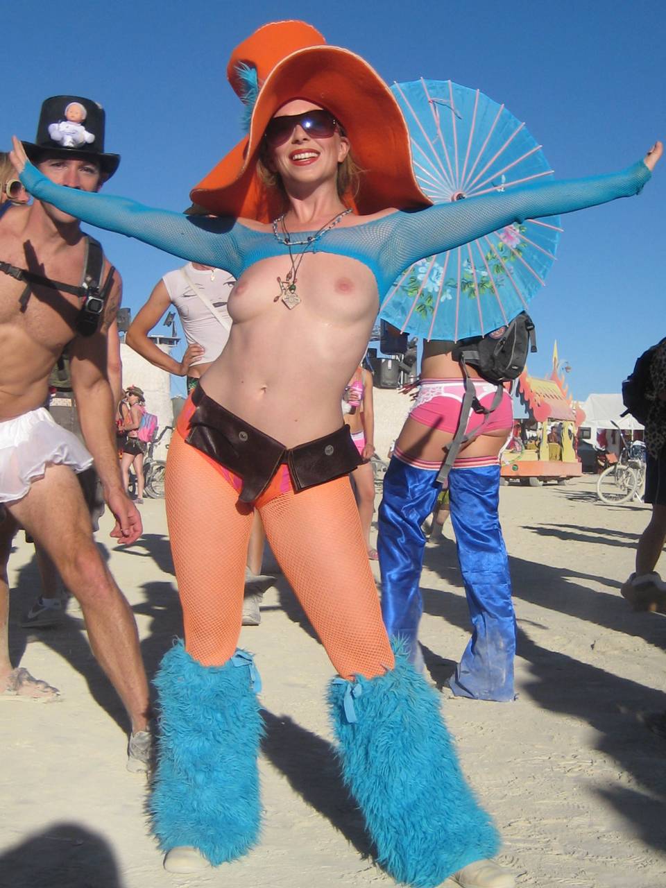 Mistress T at Burning Man