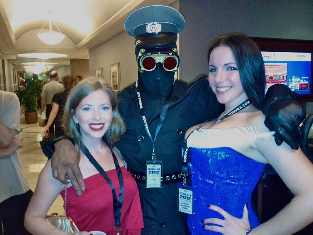 Here's me at FetCon 2012 with Domina Snow & FTKL