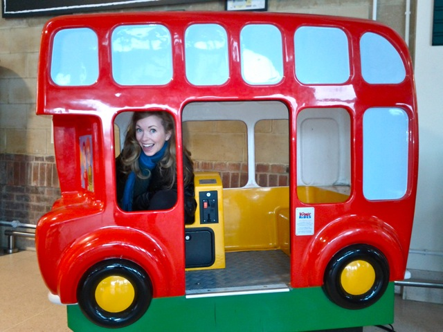 The only British double decker bus they would let me drive...