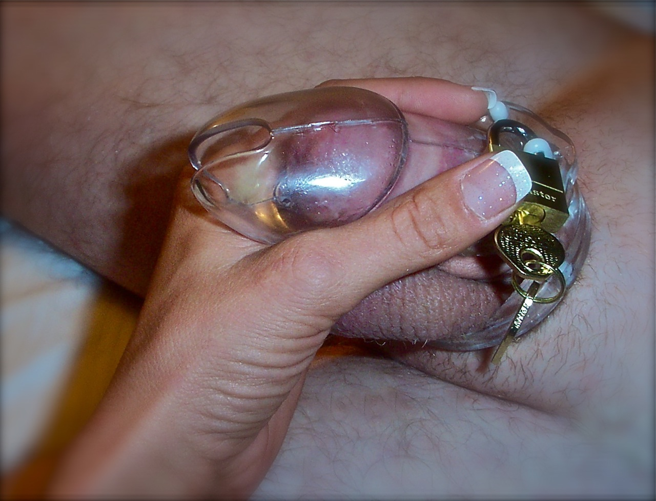 Chastity device.