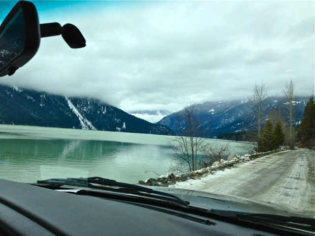 Beautiful British Columbia...it's a scenic drive to the hot springs.