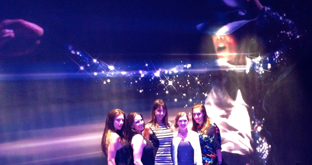 We went to the Michael Jackson Cirque Du Soleil show (wouldn't recommend it actually). , Mandy Flores, Alexandra Snow, Ceara Lynch, me & Meggerz.