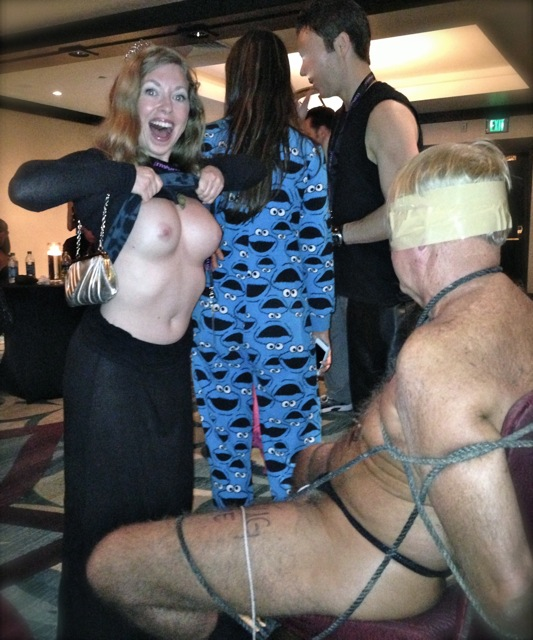 Mistress T at FetishCon 2013.