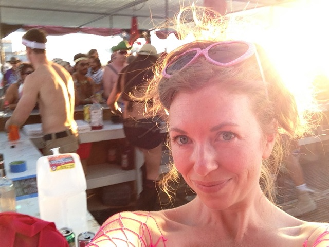Mistress T at Burning Man.