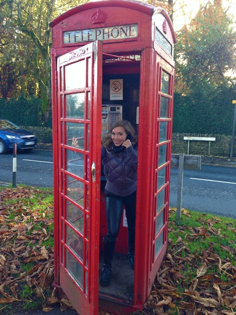 Love these British phone booths.