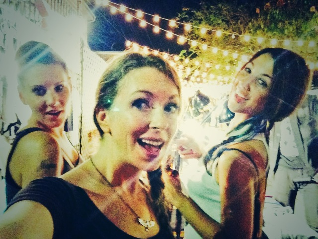 Meg, Ceara & I at the Sunday night market on Frenchman St. in New Orleans.