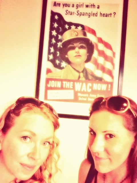Meg & I went to the WW2 museum. I highly recommend it.