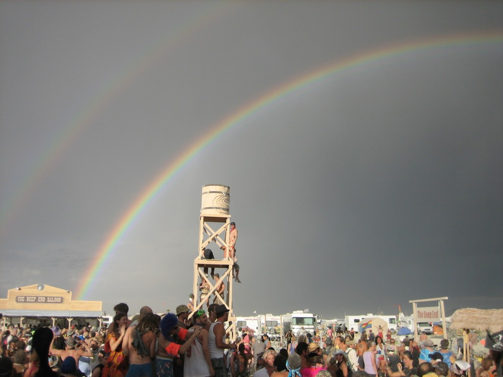 "That's how good that makes me feel...""double fucking rainbow at Burning Man"" good. That's SUPER good."