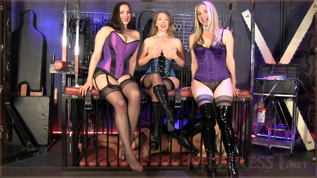 Free vid with Alexandra Snow, Mistress T & Sidonia Von Bork at: http://www.mistresst.net/free_video