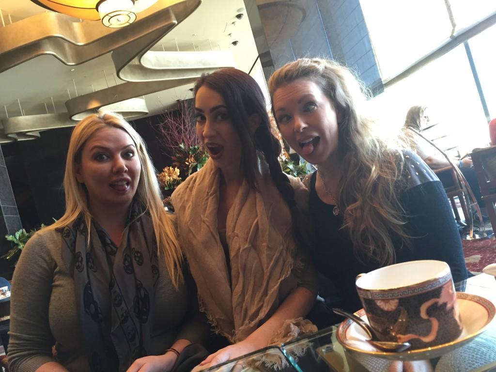 Lexi Sindel, Mina Thorne & I in Vegas
