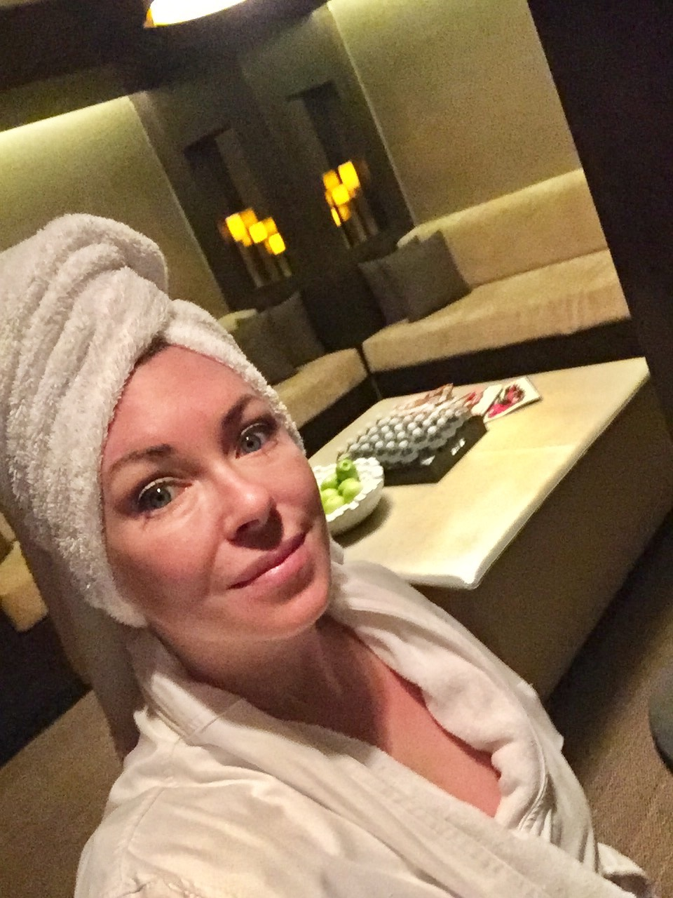 At the spa in Vegas!