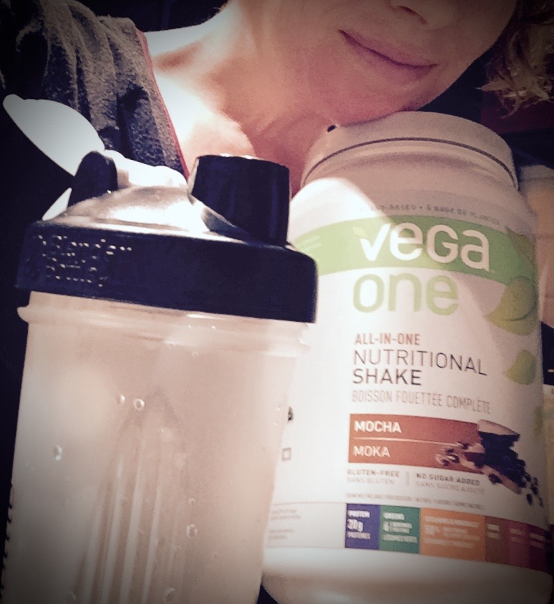 Vega powder & shaker cup sent by a fan from my wish list.